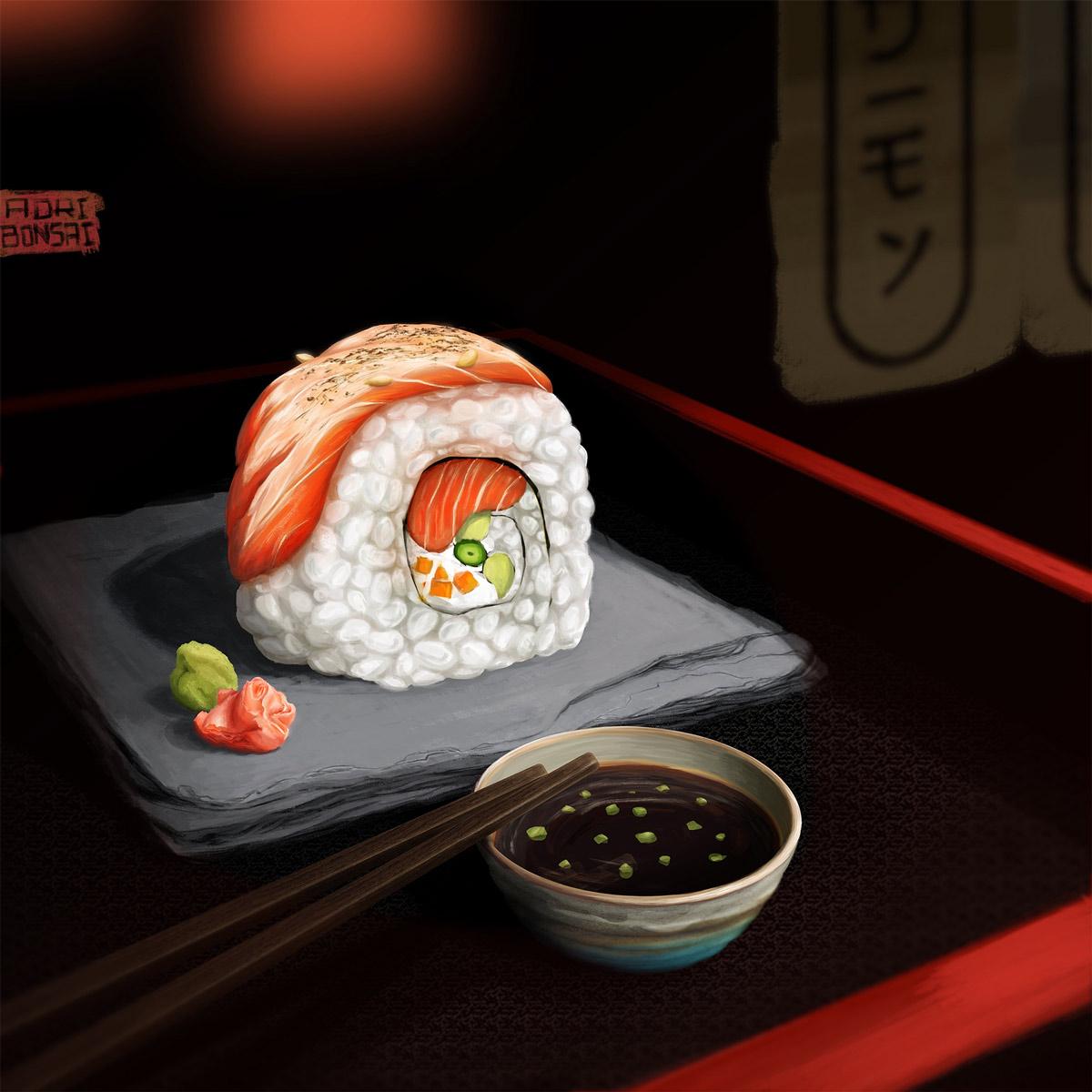 Sake Uramaki